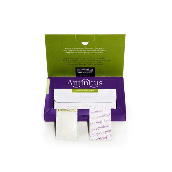 Tinnitus treatment antinitus