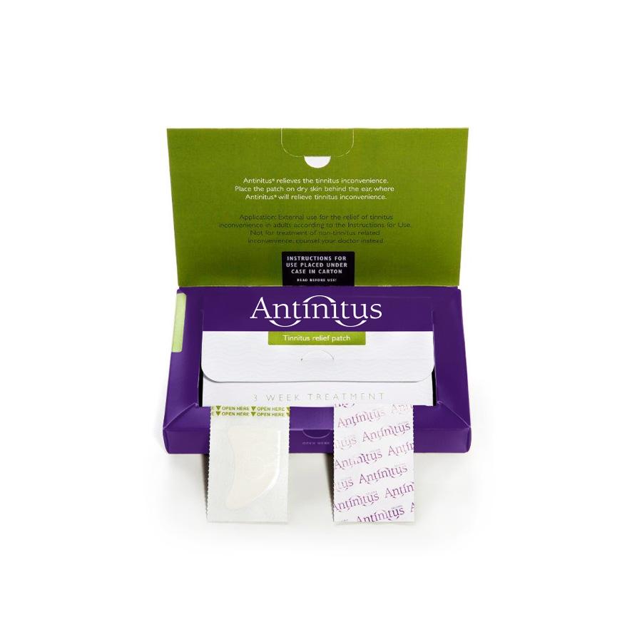 Antinitus Tinnitus tratamiento bierto